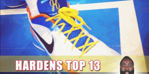 Top 13 James Harden On-Court Nike Sneakers