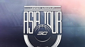 Stephen Curry Kicks Off International Tour with Under Armour